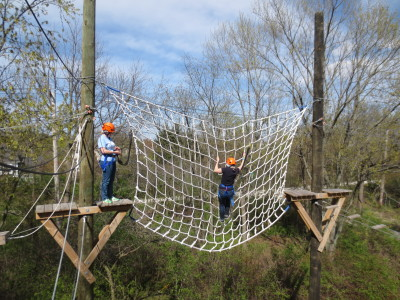 Cargo Net: Climb from one side of the net to the other.
